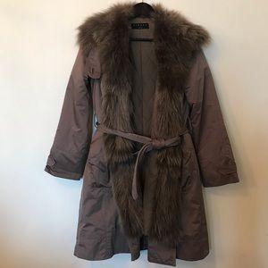 Fur coat Sisley